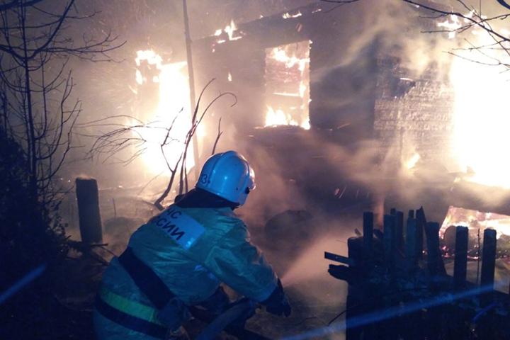 83-летний пенсионер сгорел живьем в своем доме вЧереповецком районе