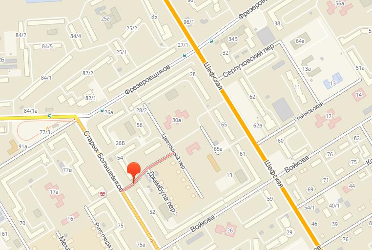 Наекатеринбургском Эльмаше перекроют улицу Каширскую Сегодня в10:52