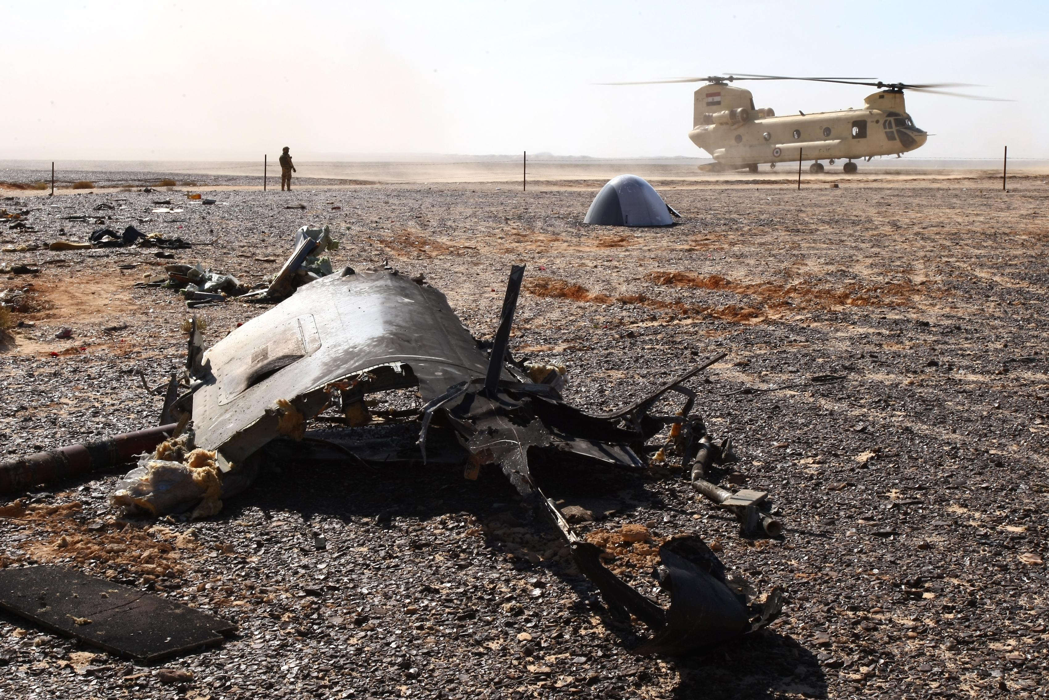Память жертв крушения российского А321 почтили вШарм-эш-Шейхе