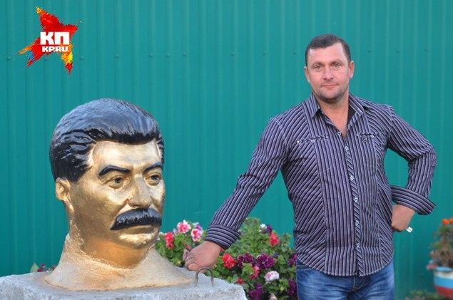 Новосибирцы заказали монумент Сталину
