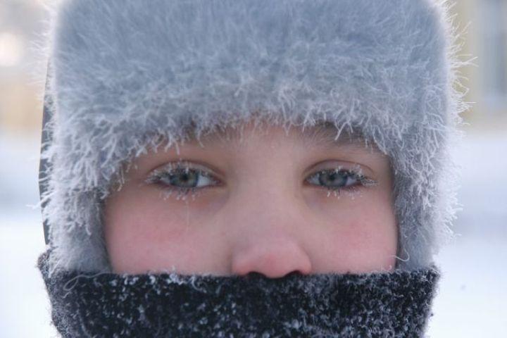 В Томской области ожидаются сильные морозы.