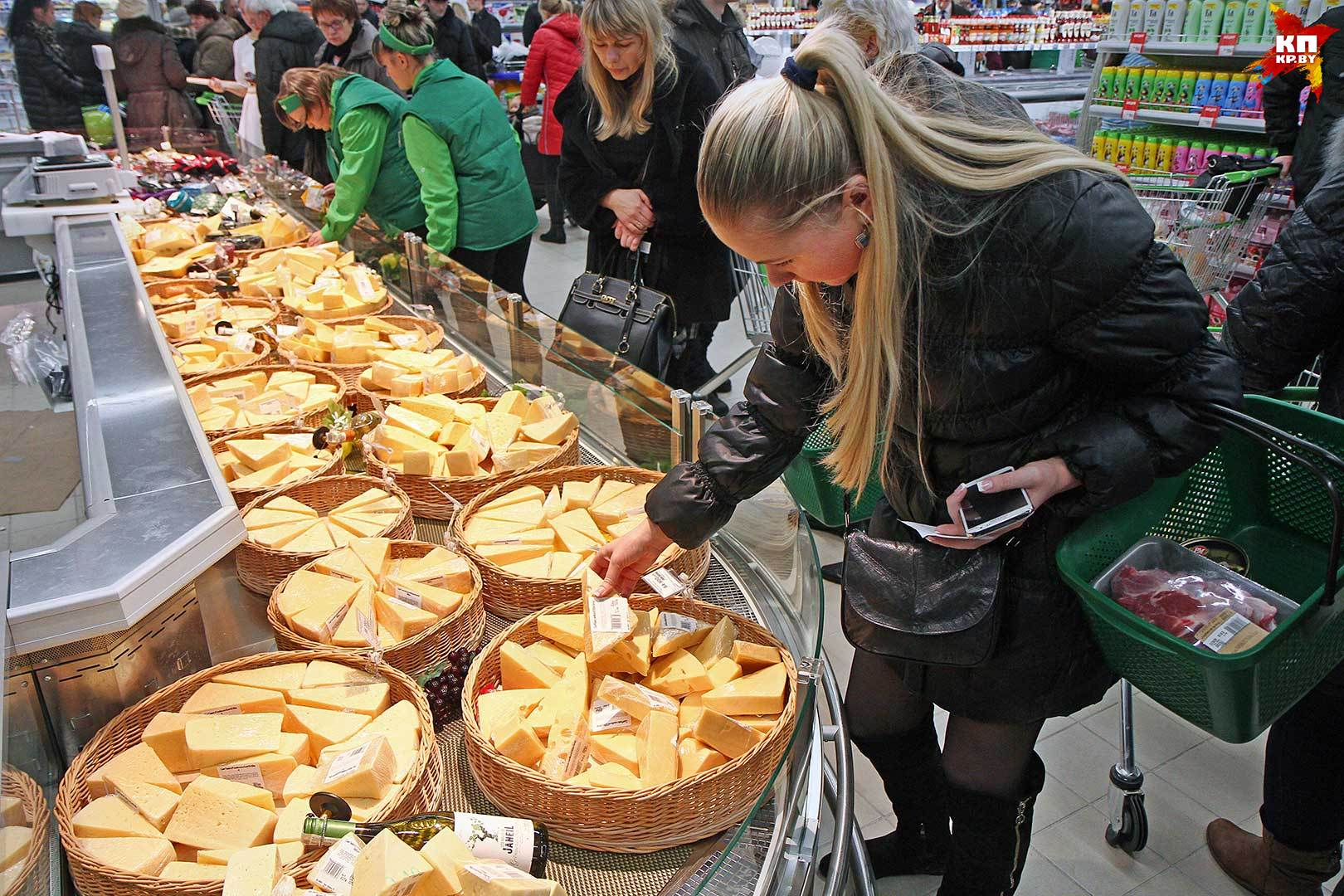 По экспорту сыра Беларусь обогнала Аргентину и Австралию.