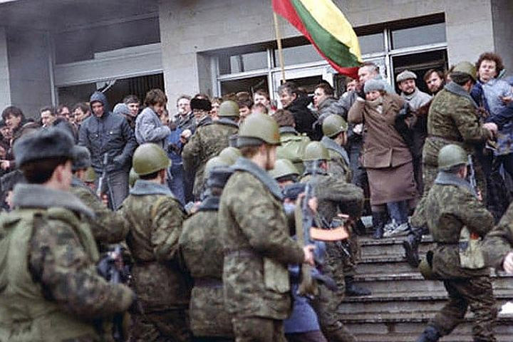 Вильнюсский окружной суд, рассматривающий дело о событиях 13-го января 1991 года, объявил почти двухмесячный перерыв. Фото: с сайта newspeak.by