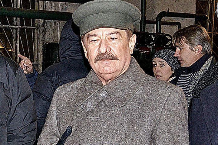 """Актер сыграл Сталина в 12 картинах. Фото: """"КП"""" Москва."""