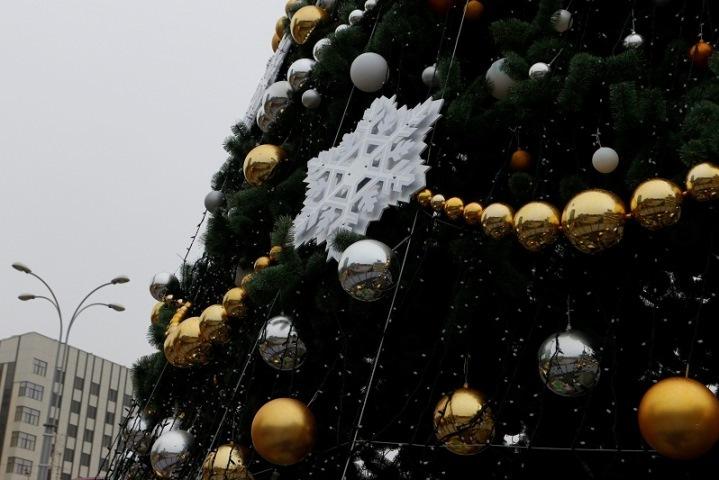 Главную новогоднюю елку вКраснодаре начнут устанавливать вконце ноября