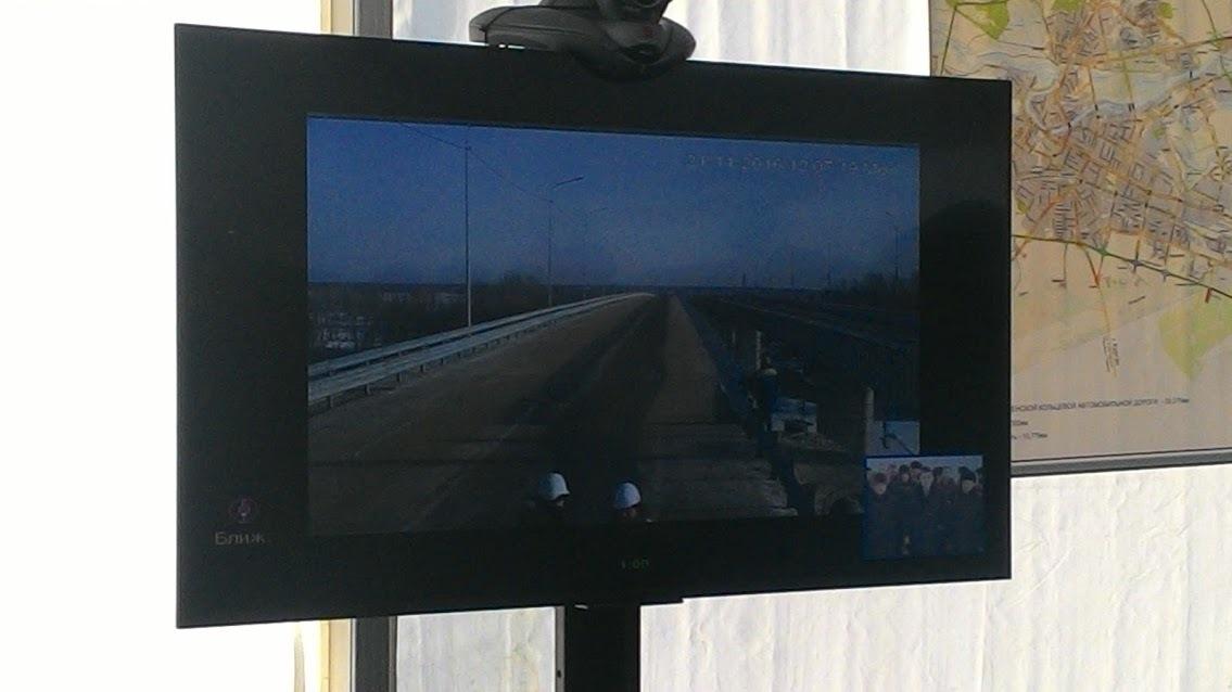 Телемост. Открытие моста через Тобол
