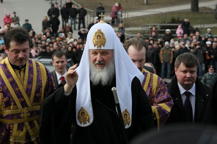ВКалининград сдвухдневным визитом прибыл патриарх Кирилл