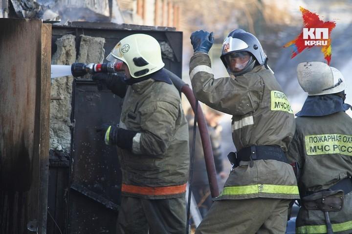 Встолице Тувы двое детей, устроивших пожар, получили серьезные ожоги