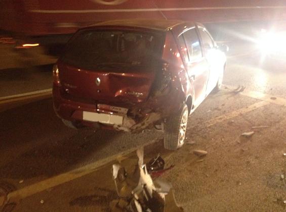 ВСамаре нетрезвый шофёр без прав устроил ДТП стремя легковушками