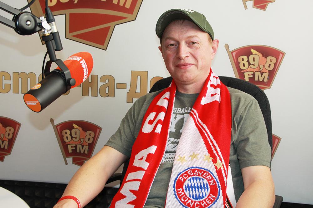 """Валерий Соломенников в студии радио """"Комсомольская правда Ростов"""""""