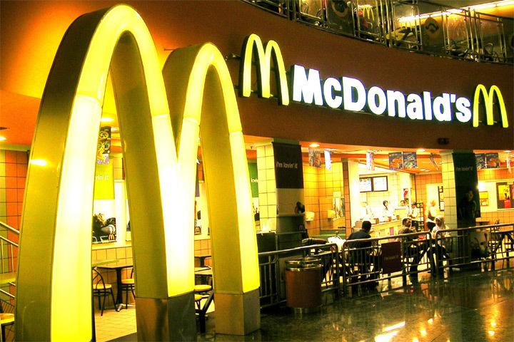 Шведка поселилась в ресторане быстрого питания «Макдоналдс». Фото: с сайта mmgp.ru