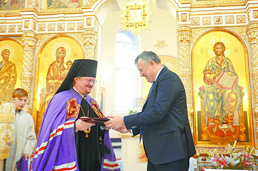 Губернатор договорился о сотрудничестве с Выборгской епархией и приходом собора святого Архистратига Михаила