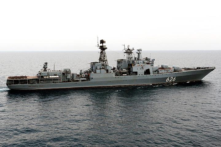 ВСредиземноморье русский корабль спас экипаж судна государства Украины