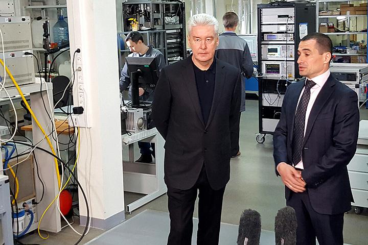Собянин: Технопарки— новый вид московской индустрии