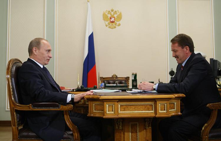 Похоже, претензии главы государства к губернатору Воронежской области не относятся Фото: Архив сайта archive.premier.gov.ru