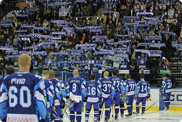 Минский клуб продлил победную серию в КХЛ до четырех матчей. Фото сайта newsbel.by