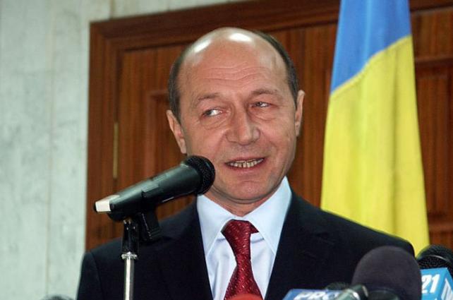 Экс-президент Румынии Траян Бэсеску.