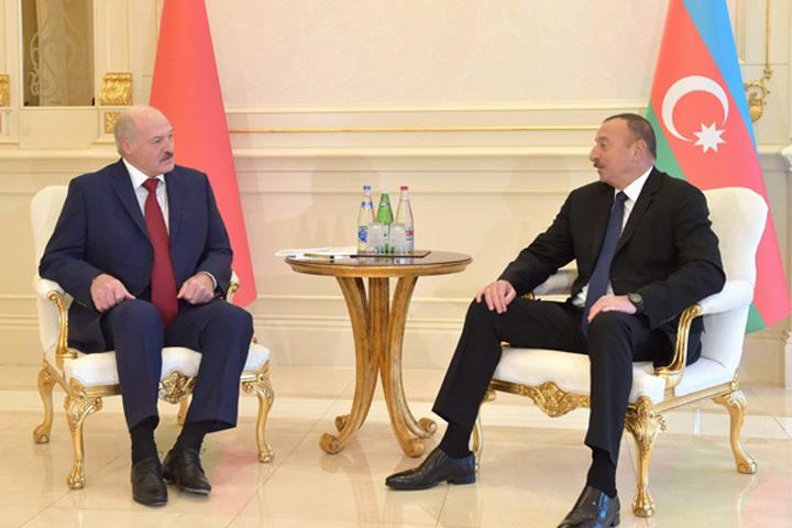 Президенты обсудили вопросы двустороннего сотрудничества. Фото с сайта: president.gov.by