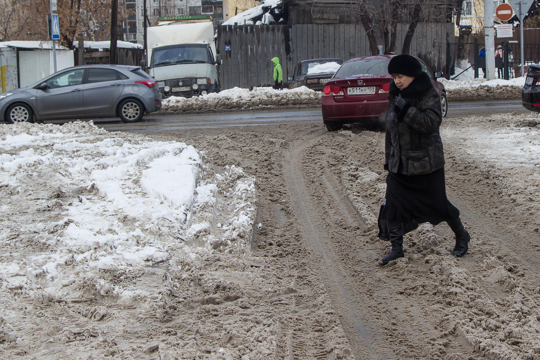 Прогулка по Перми превратилась в преодоление полосы препятствий.