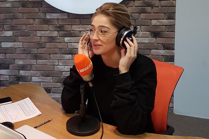 Инстаблогер Настя Ивлеева в гостях у Радио «Комсомольская правда»