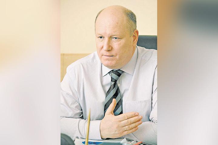 Сергей Мачехин, гендиректор одной из ведущих управляющих компаний Ачинска «Сибирь». Фото: из архива компании
