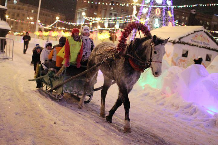 Ледовый городок откроется вЧелябинске 26декабря