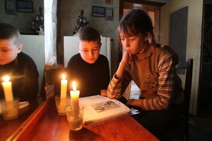 Вряде казанских домов небудет света