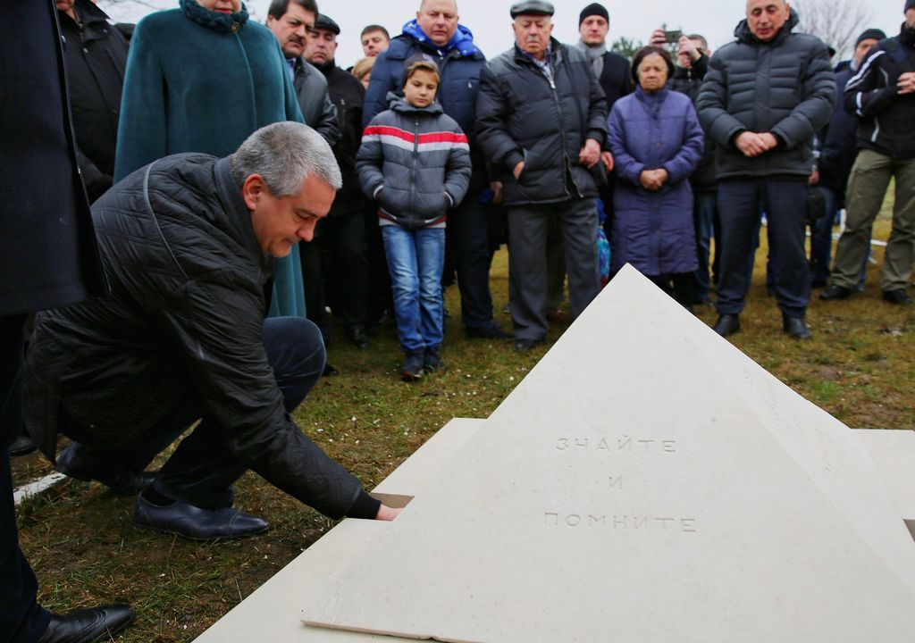 ВКрыму почтили память павших отрук немецко-фашистских захватчиков