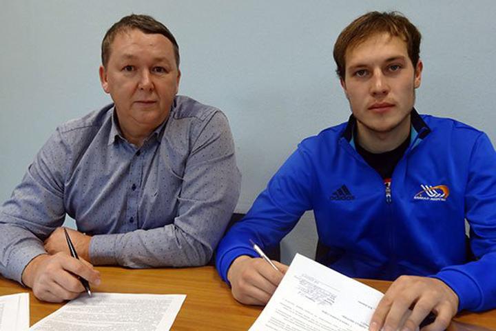 «Байкал-Энергия» подписала договор новым защитником Никитой Юрловым