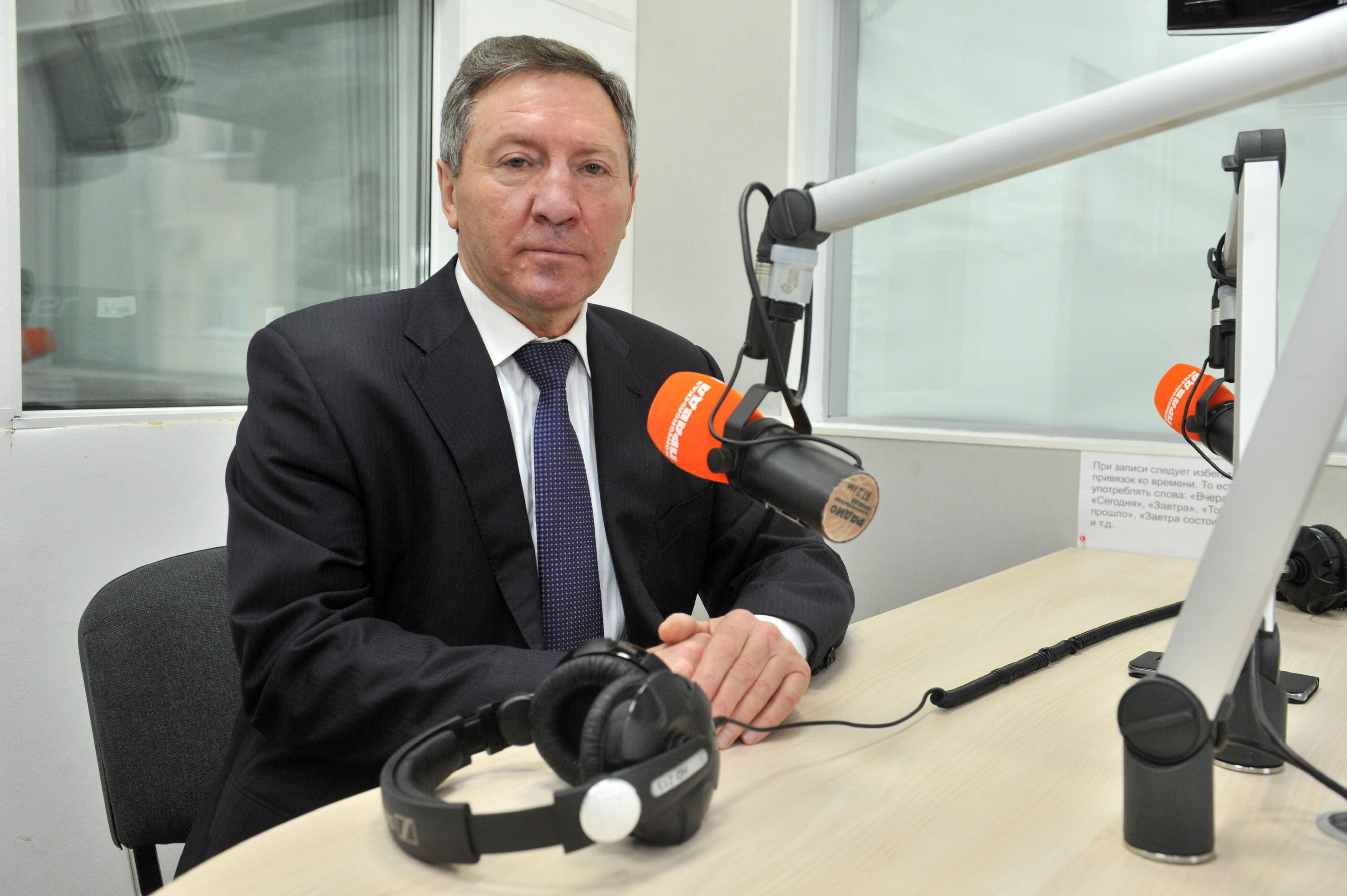 "Олег Королёв стал гостем Радио ""Комсомольская правда""."