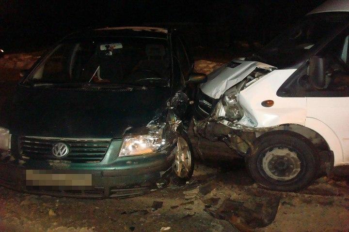 4 женщины пострадали вДТП из-за невнимательного водителя