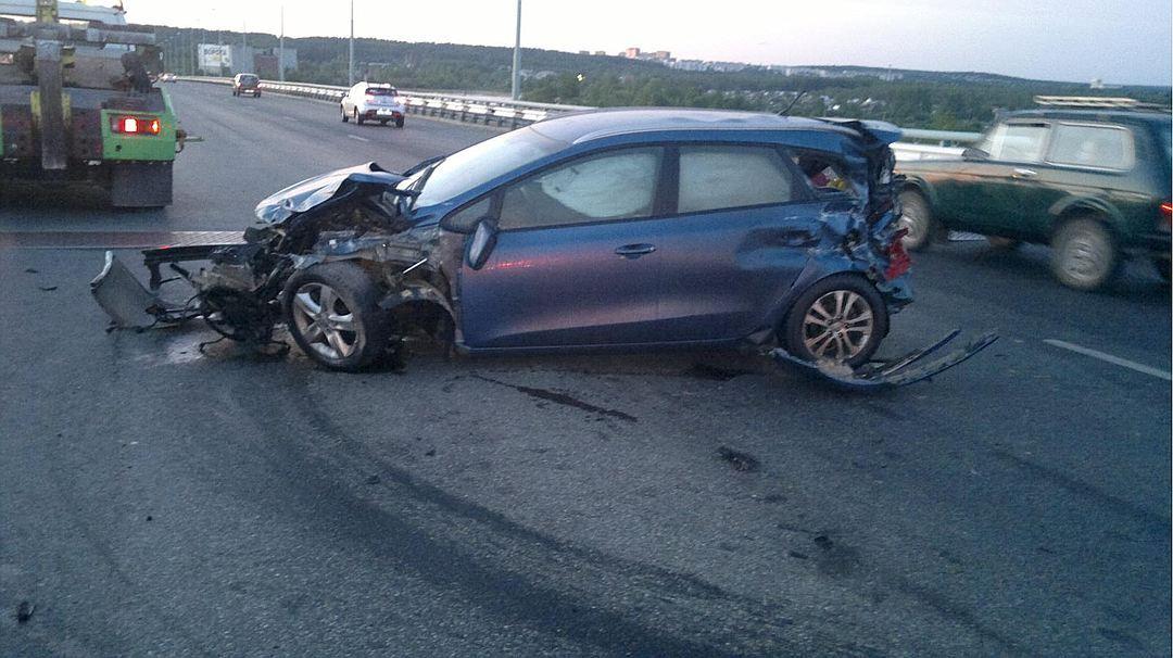 ВПерми осудили автоледи, «уронившую» пассажира вреку
