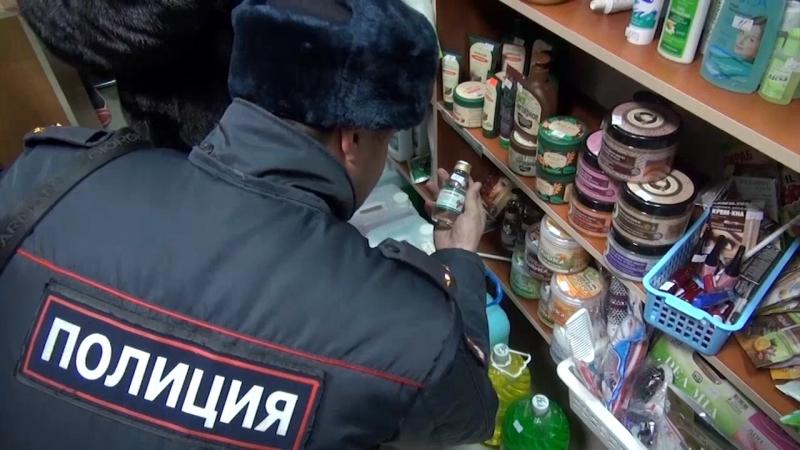 Тюменская милиция накрыла наулице Чекистов склад со150 тыс. бутыльков «Боярки»