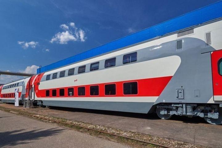 Двухэтажные поезда Москва-Воронеж оборудовали вагонами сдетскими игровыми зонами