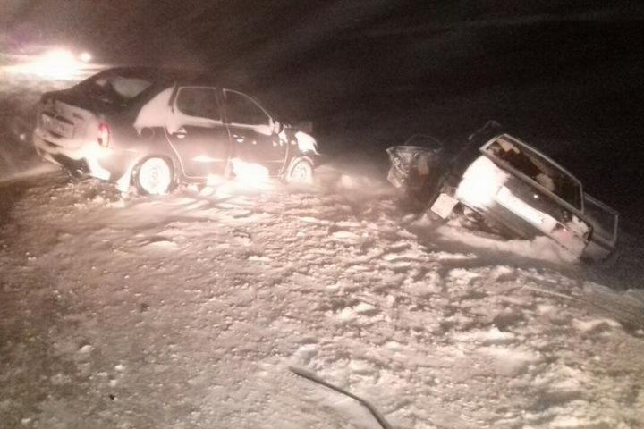 Один человек умер вДТП под Новосибирском