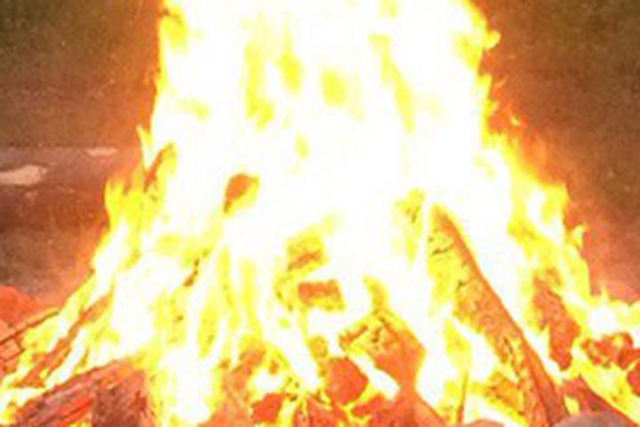 Набазе отдыха под Витебском случился пожар, есть пострадавшие
