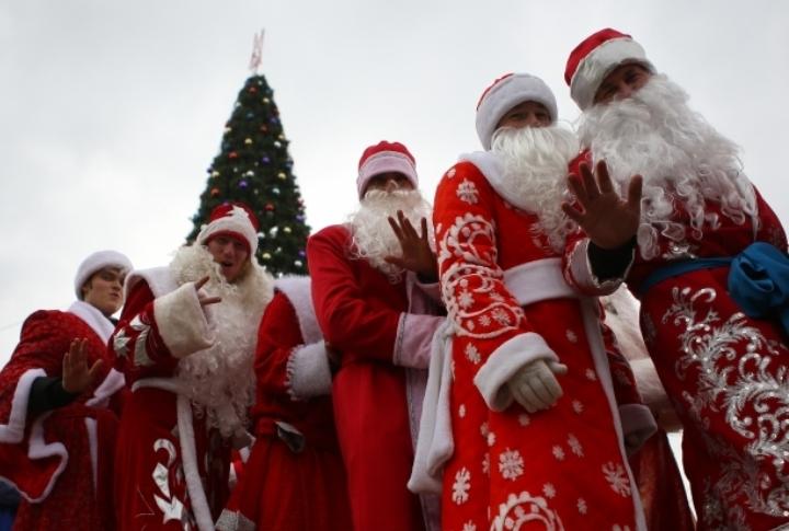 Забег Дедов Морозов и игры ждет завтра томичей
