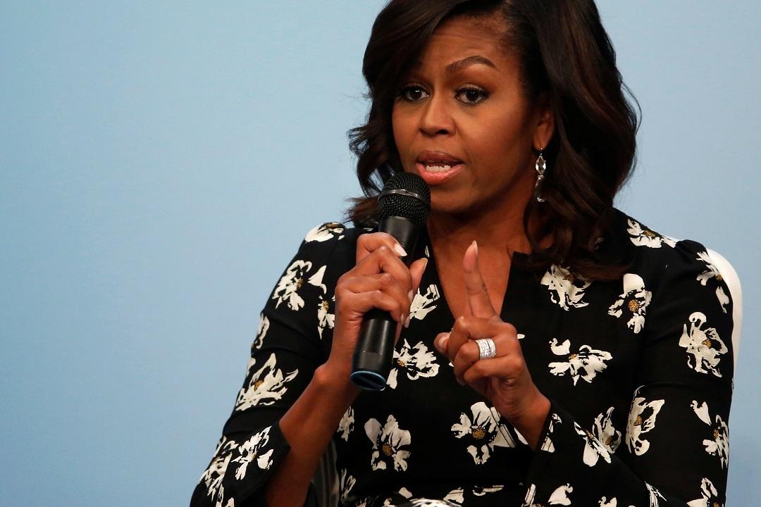 Мишель Обама выступила спрощальной речью вБелом доме