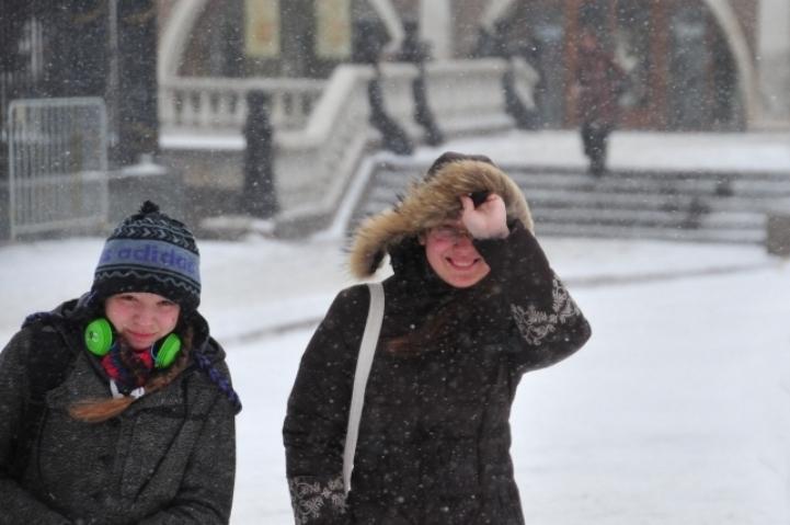В Томске сегодня ожидается метель.