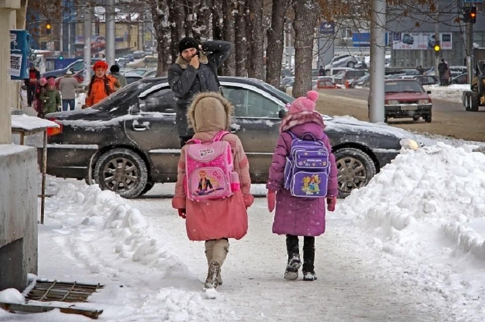 В чем ходят первоклассники зимой