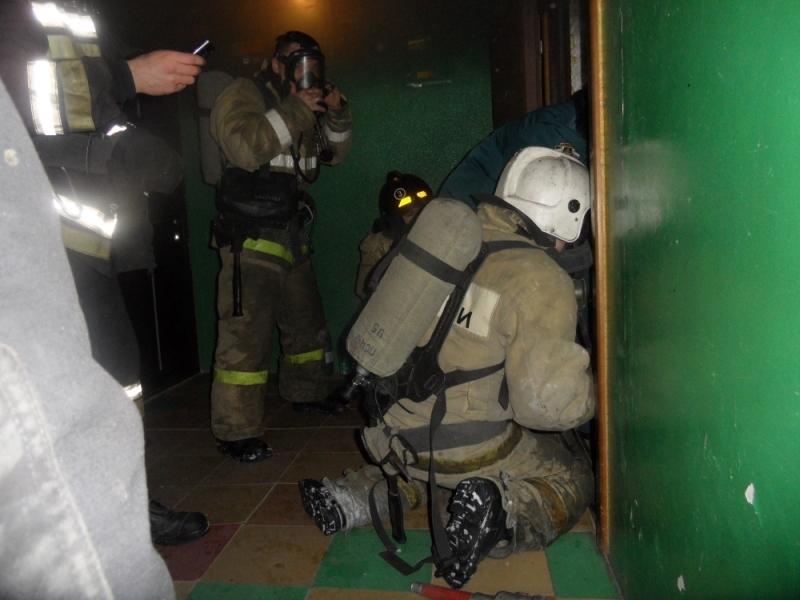 Впроцессе пожара наПузакова спасли человека
