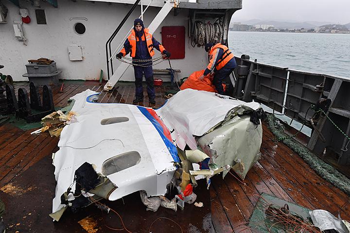 Ту-154 пропал с радаров утром 25 декабря 2016 года через несколько минут после вылета из Сочи. На борту находилось 92 человека
