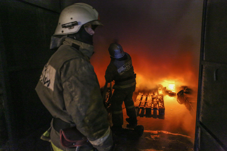 ВКазани женщина пострадала напожаре, спасая собаку изогня