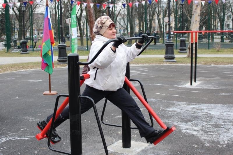 ВКраснодаре возникла новая спортивная площадка
