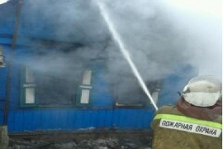 Вбрянском селе сгорел дом: погибла 2-летняя девочка