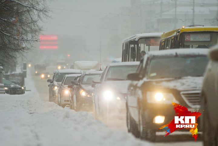 ВЕкатеринбурге ГИБДД закрыла движение автобусов поБлюхера