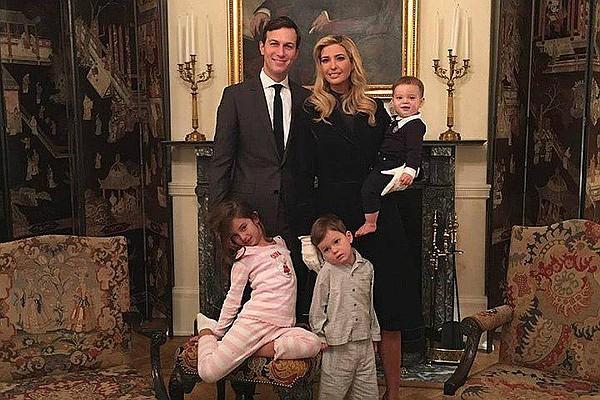 Картинки по запросу Иванка Трамп показала видео с младшим сыном в Белом доме