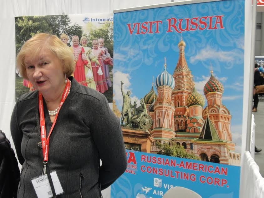 Стенд Unique Russia на The New York Times Travel Show