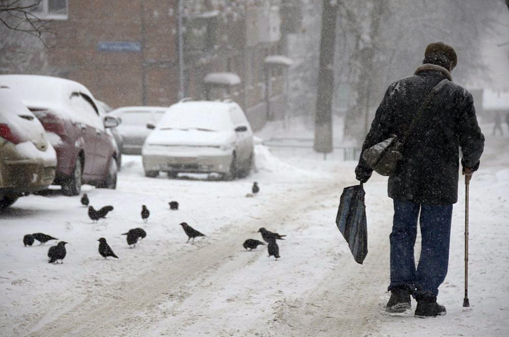 Ввоскресенье вТуле холодно иветрено