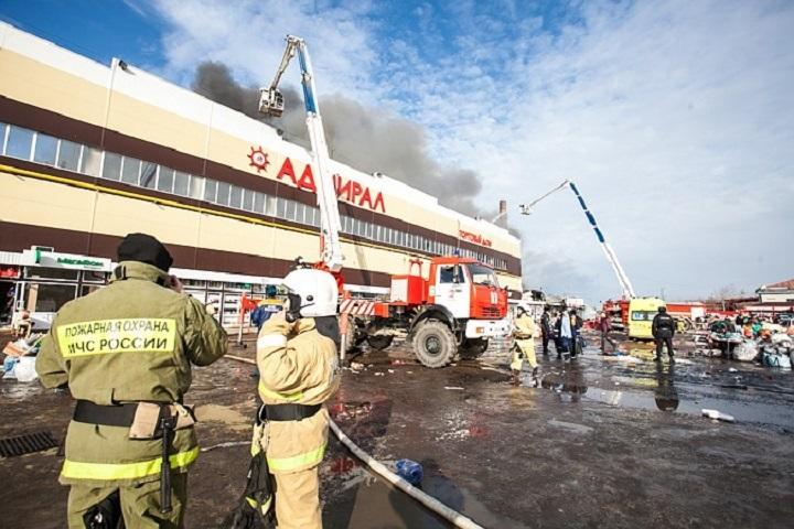 ВКазани стартовал суд поделу опожаре вТК «Адмирал»